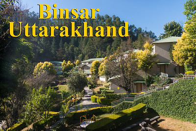 Binsar Valley, Uttarakhand Perched high up in the Kumaon Himalayas, Binsar offers a breathtaking view of the snowy mountain ranges of Panchchuli, Shivling, Chaukhamba, Trishul and Nanda Devi.