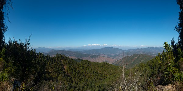 Panoramic VR view @ Binsar on the way to Club Mahindra Binsar Valley Resort in Uttarakhand, North India. Perched high up in the Kumaon Himalayas and offering breathtaking view of the snowy mountain ranges.  Rest of the high resolution images can be seen at: https://www.photonicyatra.com/Destinations/India-Uttarakhand-Binsar/