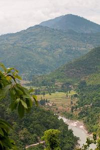 River near Dandeshwar temple, Binsar, Uttarakhand.