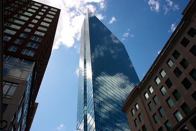 Blue skies in Boston