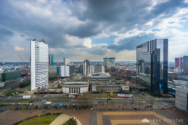 View from the Library of Birmingham