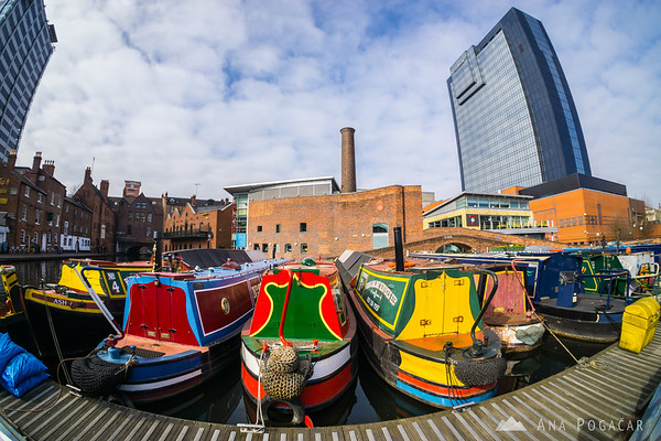 Birmingham canals and boats