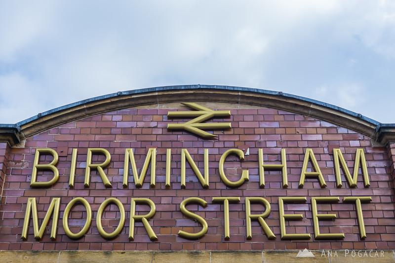 Birmingham Moor Street station