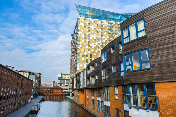 The Cube and Birmingham canals