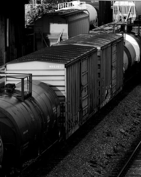 Early Morning Train Shot Downtown Birmingham