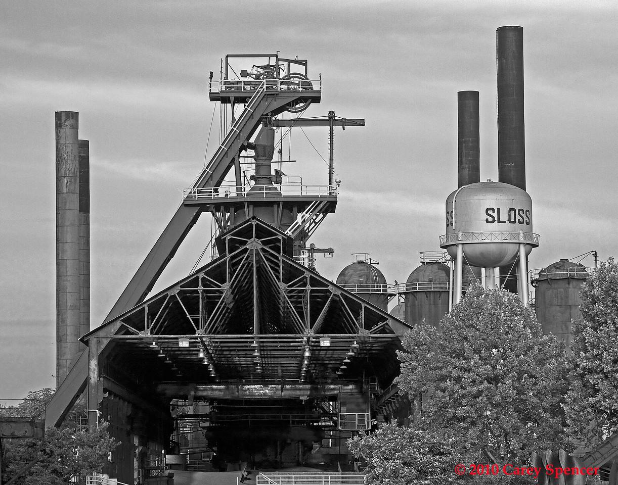 Sloss Furnaces Birmingham, Alabama.
