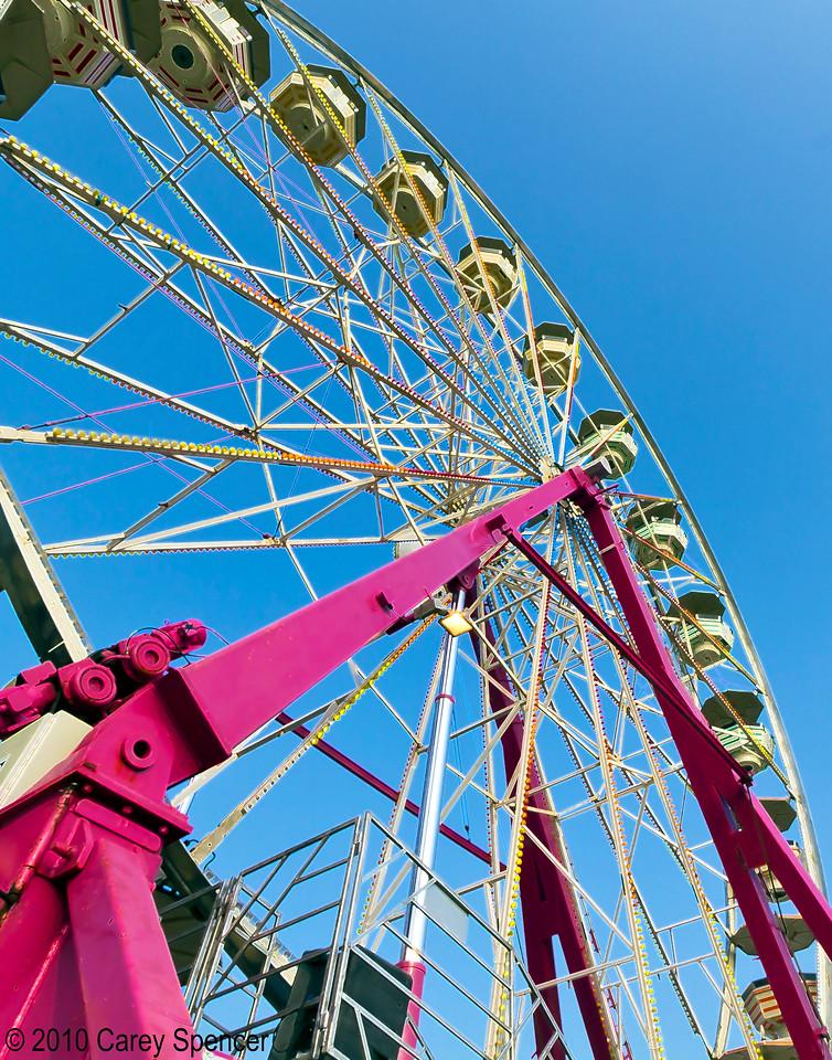Ferris wheel Alabama State Fair Pelham 2010