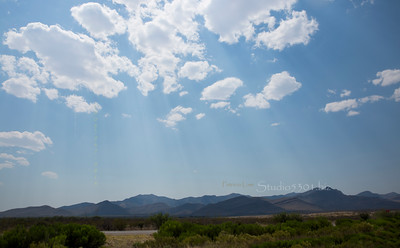Mountains & clouds AZ 5236