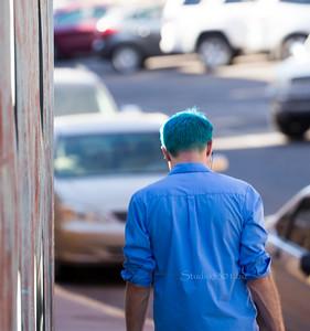 Blue hair 1192