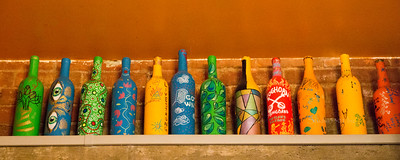 Bottles wall_Santiago_Bisbee rest 5172