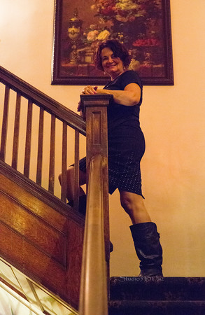 Teena_CopperQ stairs 5187
