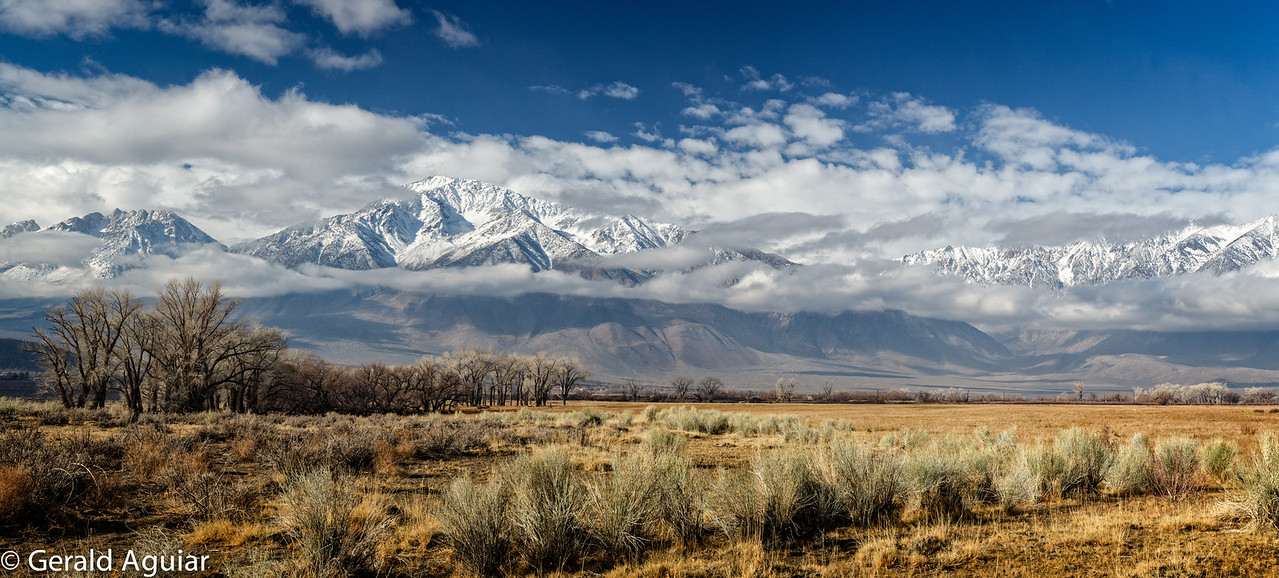 Panoramic of Owens Valley