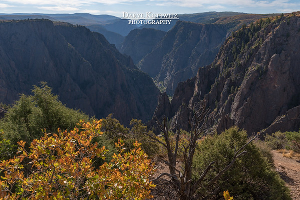 Black Canyon of the Gunnison and Surroundings