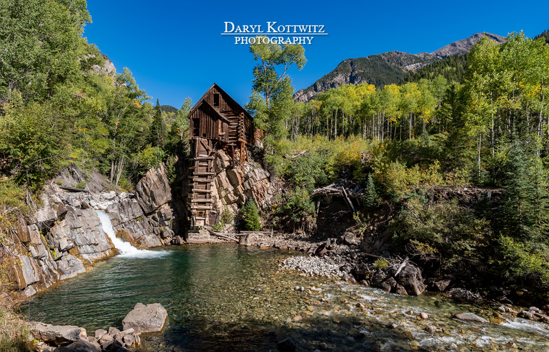 Crystal Mill, Falls and Pool