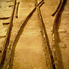 track switching was done by hand.