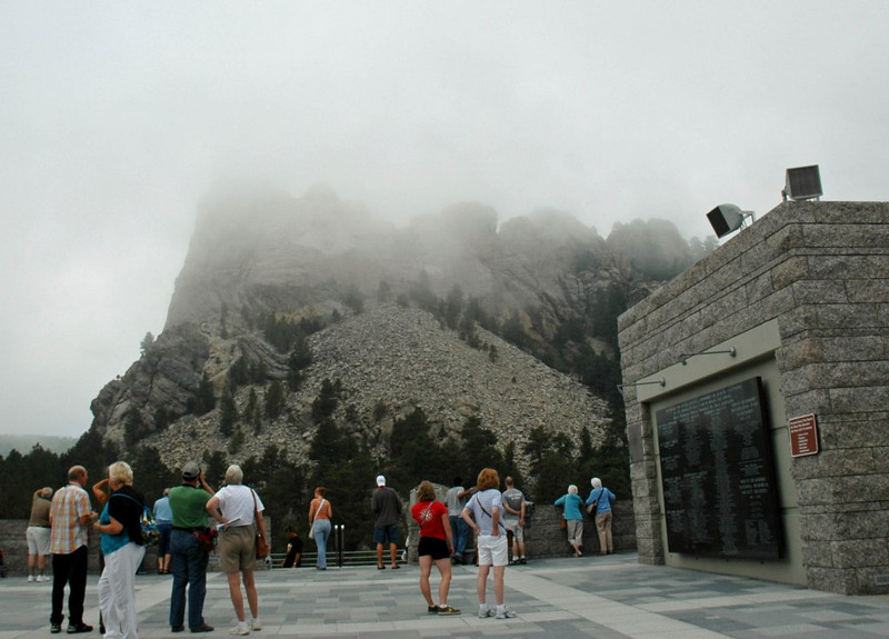 Clouds over Mt. Rushmore