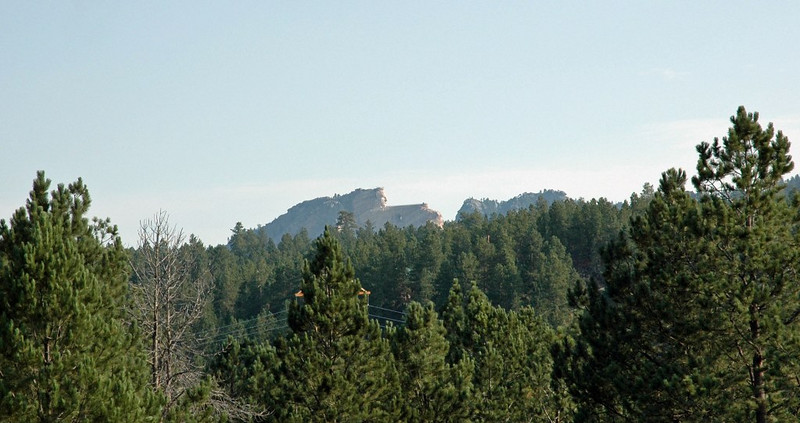 Crazy Horse from Far