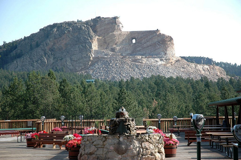 Crazy Horse from the Deck