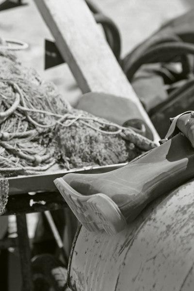 fishing boot, Liguria, Italy