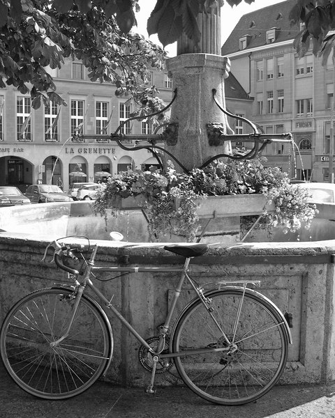 Freiburg Switzerland fountain