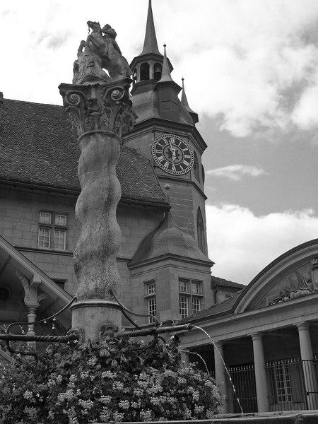 Swiss Fountain