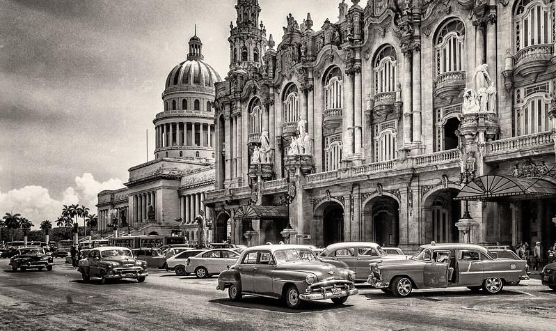 Classic Cars Cruising in Havana