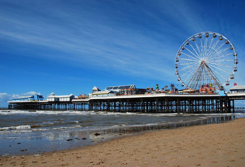 Central Pier at Blackpool