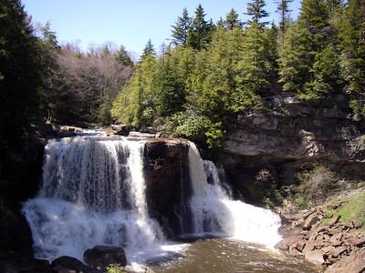 Blackwater Falls & Seneca Rocks, WV State Parks Sightseeing and Hiking April 28-29, 2006