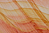Patterns/Striations in the sandstone.