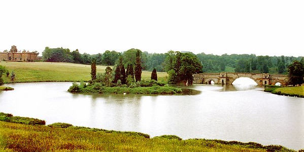 Bridge Blenheim Palace England - Jul 1996