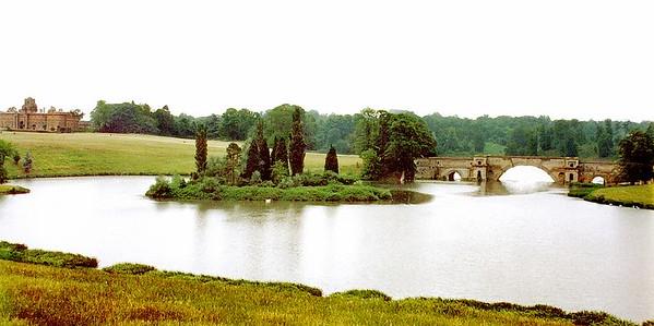 Bridge Blenheim Palace England - Jul 1996