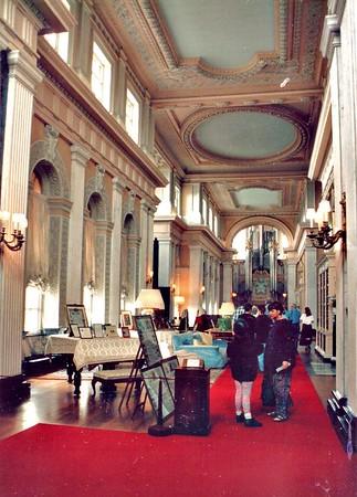 Interiror Blenheim Palace England - Jul 1996