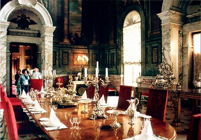 Dining room Blenheim Palace England - Jul 1996