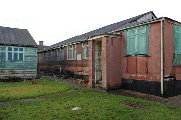 Hut 3 and hut 6 (left), Bletchley Park, 29 December 2012