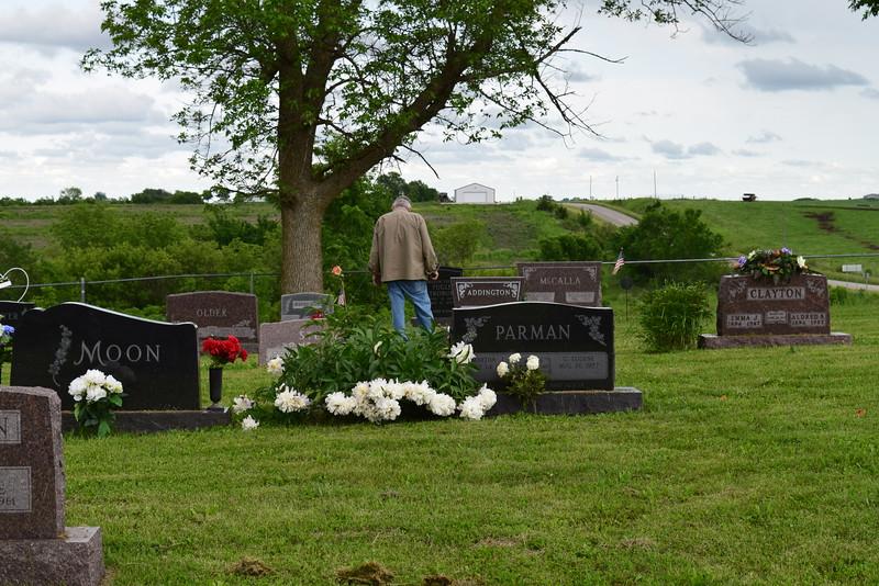 Rosehill Cemetery, Blockton Iowa.