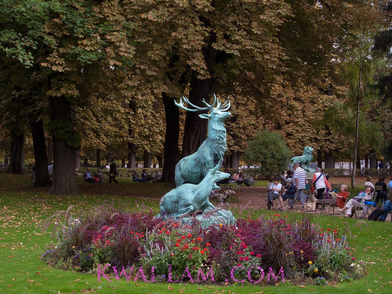 Stag Statue, Luxemberg Gardens, Paris