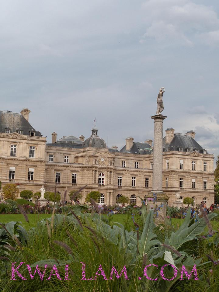 Luxemberg Gardins, Paris.