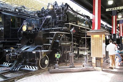 A huge 2-8-8-4 articulated locomotive ...