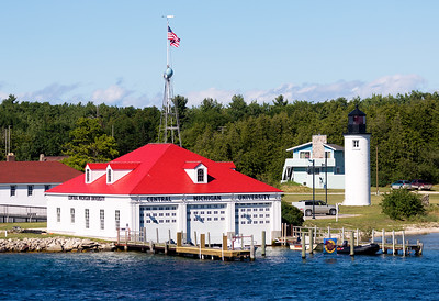 Next to the Lighthouse is the Central Michigan University Biological Station.