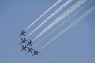 Blue Angels Naval Air Performance