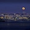 Supermoon over Estoril