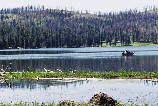 7/4/05 Blue Lake, Modoc National Forest, Warner Mtn Ranger District, Lassen Cty, CA