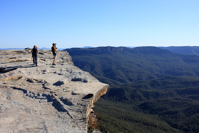 Flat Rock lookout. Wentworth Falls.