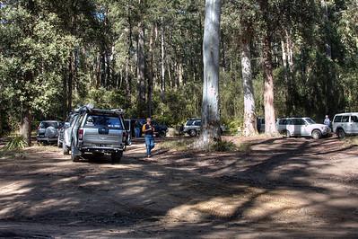 Murphy's Glen camping area.