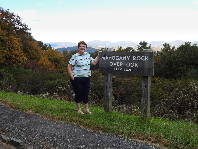 We got on the Parkway near Fancy Gap, Virginia and drove to MM 235.