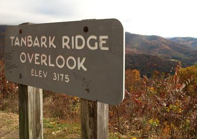 Blue Ridge Parkway NC37