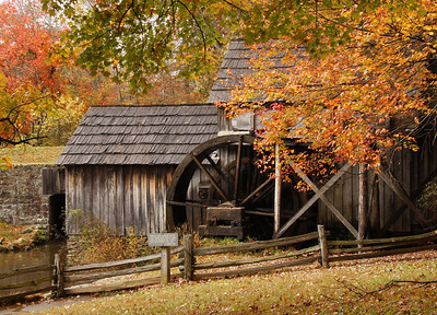Mabry Mill - the iconic location of the Blue Ridge Parkway