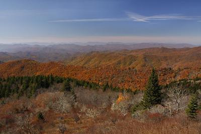 Colored Carolina Hills