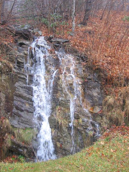 12252006 Waterfall near Boone on Blue Ridge Parkway