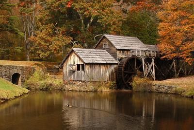 Mabry Mill Pond
